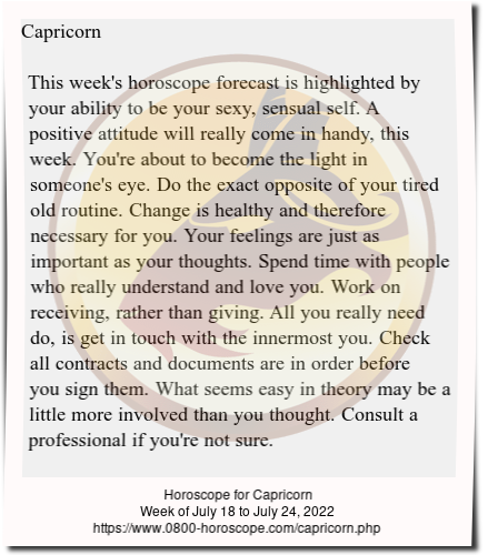 Read her free weekly horoscope forecast below  | cresvasune gq